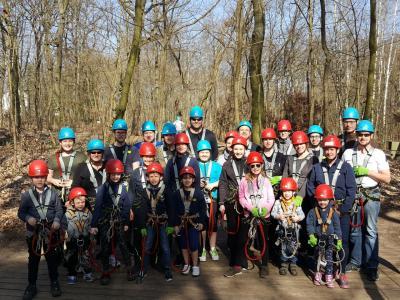 Vorschaubild zur Meldung: Ausflug Abenteuerpark Potsdam