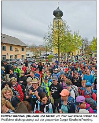 Vorschaubild zur Meldung: 90 Kilometer Glaube und Gemeinschaft