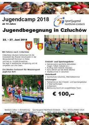 Vorschaubild zur Meldung: Jugendaustausch mit Polen in Czluchów