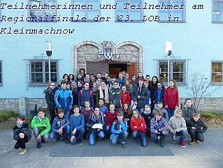 Vorschaubild zur Meldung: Am 22.Februar 2018 fand das Regionalfinale der 23. Biologieolympiade Junger Biologen des Landes Brandenburg in Kleinmachnow statt.