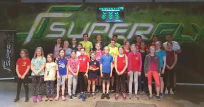 Foto zur Meldung: Ausflug des Jugendausschusses ins Superfly Aachen