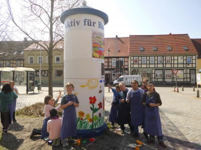Foto zur Meldung: Frühling in der Stadt