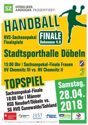 Vorschaubild zur Meldung: HVS-Pokal Finalspiele am 28.04. in Döbeln