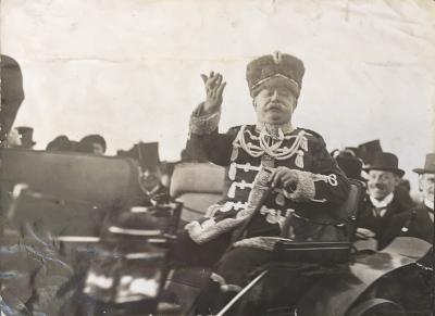 Staatsminister und General der Zietenhusaren Victor von Podbielski