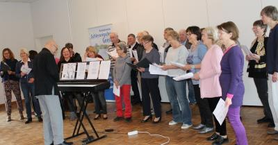 Foto zur Meldung: Chor-Projekt begeistert beim Treffen des Heimatvereins