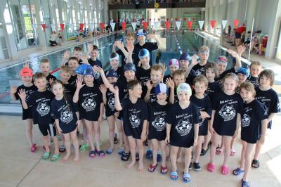 Foto zur Meldung: Schwimmen Kreismeisterschaften der Jg. 09-12 in Zittau