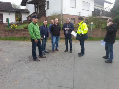 Foto zur Meldung: Straßenbau Gillwiese startet im Mai