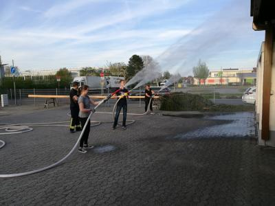 Foto zur Meldung: Juleica meets Feuerwehr 2018