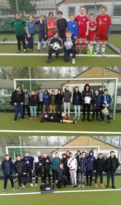 Foto zur Meldung: Fußballvergleich der Stralsunder Schulen