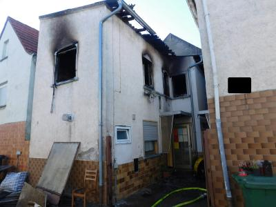 Vorschaubild zur Meldung: +++Wohnhausbrand in Wörrstadt+++