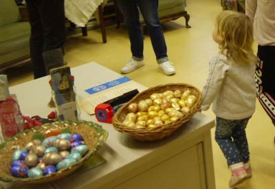 Foto zur Meldung: Ostermarkt des Fördervereins