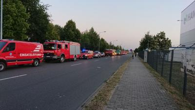 Foto zur Meldung: Einsatz der Brandschutzeinheit HVL - Waldbrand in Fichtenwalde