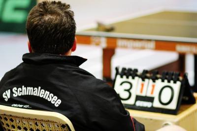 Foto zur Meldung: Dramatisches Tischtennis-Finale – SVS II spielt unentschieden und verliert somit