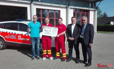 Vorschaubild zur Meldung: Amt Burg (Spreewald) unterstützt First Responder