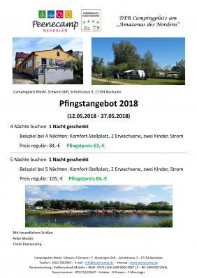Foto zur Meldung: Pfingstangebot 2018