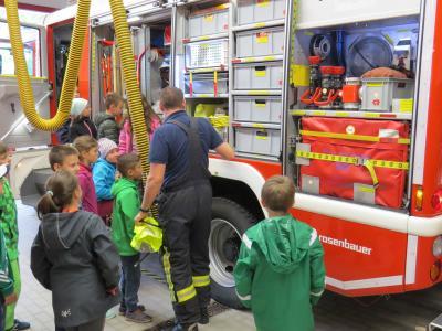 Foto zur Meldung: Besuch der Grundschule/Kindergärten