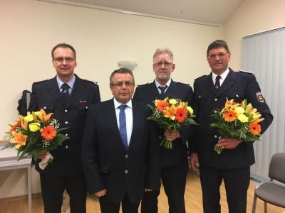 Foto zu Meldung: Mitgliederversammlung der freiwilligen Feuerwehren unserer Gemeinde
