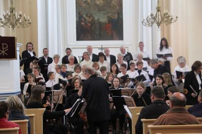 Foto zur Meldung: Chorkonzert in der St.Marienkirche