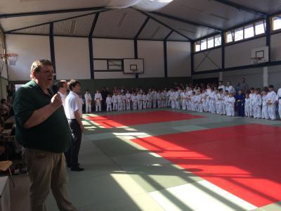Foto zur Meldung: Kinder- und Jugendsportspiele im Judo
