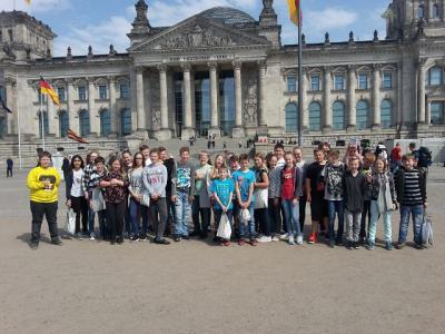 Vorschaubild zur Meldung: Zu Besuch im Bundestag