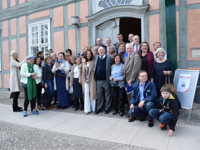 Foto zur Meldung: Ausstellung im Wegemuseum eröffnet: Portugiesische Gäste besuchten ihren Ursprung