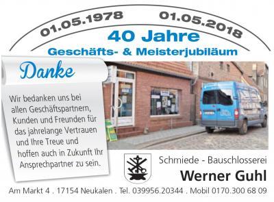 Foto zu Meldung: 40. Geschäfts- & Meisterjubiläum