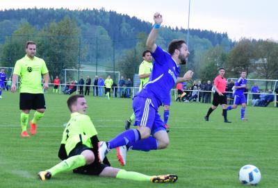 Foto zu Meldung: Bezirksliga: FC Vorwärts - TSV Thiersheim 6:0 (2:0)
