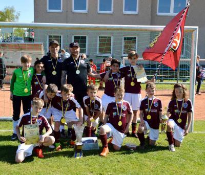 Siegerteam des BFC Dynamo Berlin