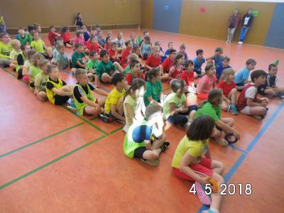 Foto zur Meldung: Staffelwettbewerb Klassenstufe 1 und 2