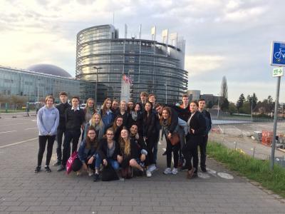 Foto zur Meldung: Drei Tage Straßburg