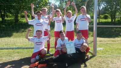 Vorschaubild zur Meldung: Großartiger Erfolg für unsere Fußball-Jungs