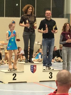Foto zur Meldung: Furioser Start in die neue Wettkampfsaison für die Rollkunstläufer der LLG Luckenwalde in Haldensleben und Potsdam