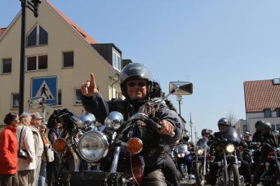 Foto zu Meldung: Malchins Oberbiker wird vom Landkreis geehrt