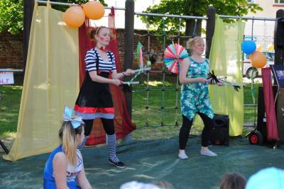 Vorschaubild zur Meldung: Kunterbuntes Zirkustreiben in der AWO Wohngemeinschaft für Kinder und Jugendliche in Perleberg