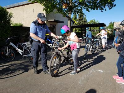 Vorschaubild zur Meldung: Tag der Verkehrserziehung an der Grundschule Iden