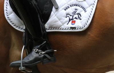 Foto zur Meldung: Dämpfer für die Reiterinnen in Schönberg – In der Trophy nun Siebte