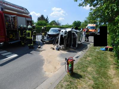 Vorschaubild zur Meldung: +++Verkehrsunfall auf der L 401+++