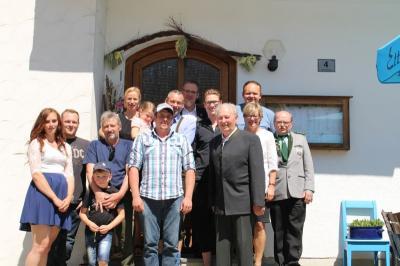 Vorschaubild zur Meldung: Erich Hastreiter feierte sein 85. Wiegenfest