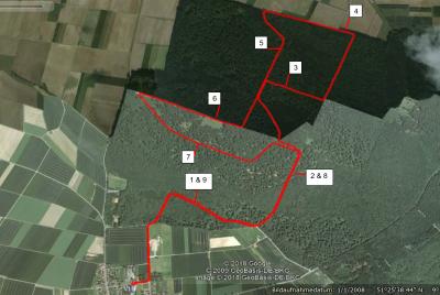 Foto zur Meldung: Streckenverlauf 10 km