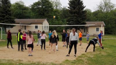 Foto zur Meldung: Handball - 1. Tag des Trainingslagers der D-Jugend