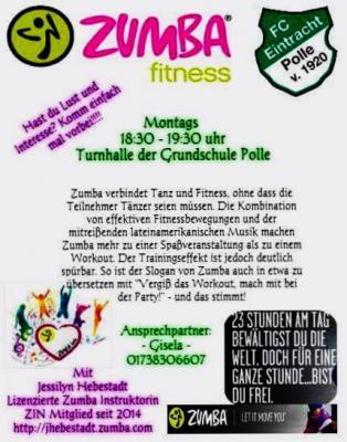 Vorschaubild zur Meldung: Zumba fitness