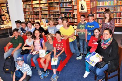 Foto zur Meldung: Welttag des Buches in der Buchhandlung Rupprecht