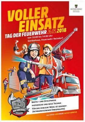 Vorschaubild zur Meldung: Voller Einsatz - Tag der Feuerwehr