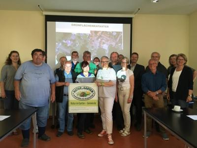 Vorschaubild zur Meldung: Grünflächenkataster und Pflegestufenpläne – Schulung in der Verwaltung der Verbandsgemeinde Obere Aller