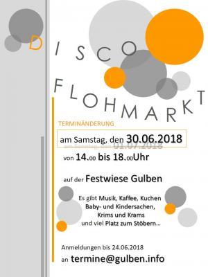 Foto zu Meldung: DISCO Flohmarkt in Gulben