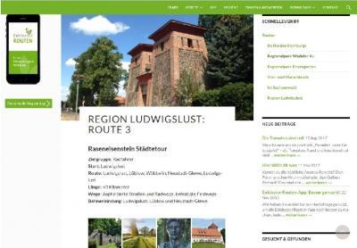 Foto zur Meldung: Die Region Ludwigslust per App neu entdecken