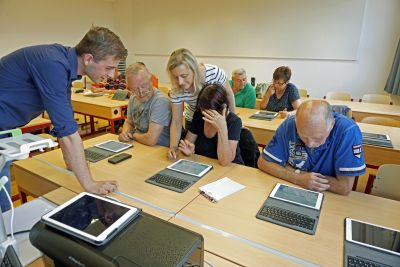 Foto zur Meldung: Computerkurs für die Generation 60plus