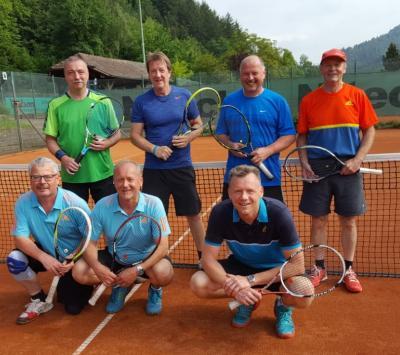 Foto zur Meldung: Tennis Herren 50 / Trainingslager Zell am Harmersbach