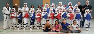 Vorschaubild zur Meldung: 20 Jahre Taekwondo beim TuS