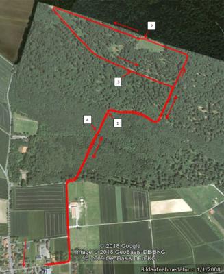 Streckenverlauf 5 km